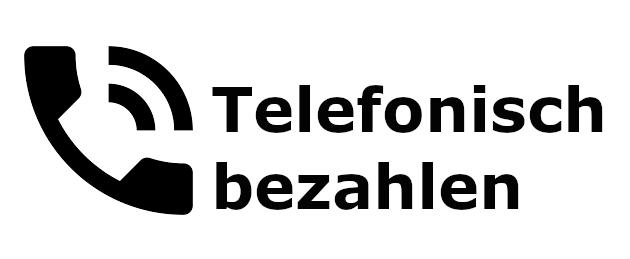 Telefonisch bezahlen